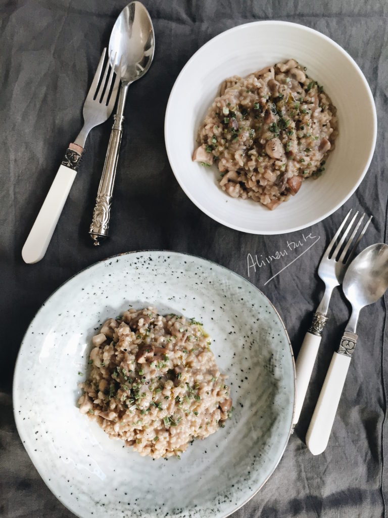 Fake truffled risotto (Foto: Alimentarte)