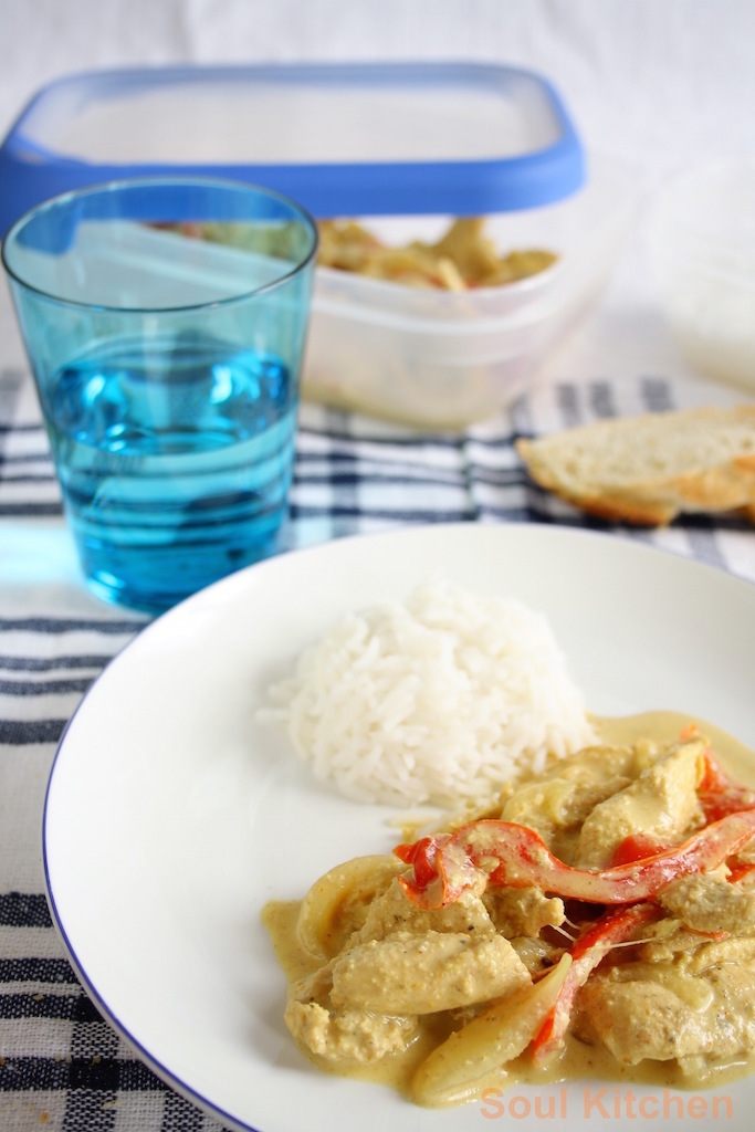 Curry chicken and basmati rice (Foto: Alimentarte)